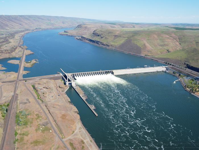 Preview photo of John Day Lock and Dam, Lake Umatilla