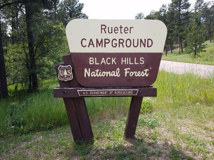 Reuter Campground Entrance Sign