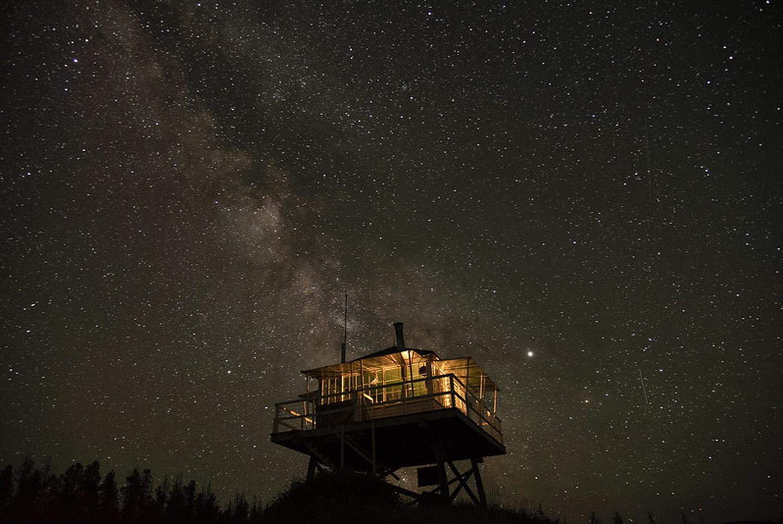 McCart Lookout star lit night 1stargazing from McCart Lookout