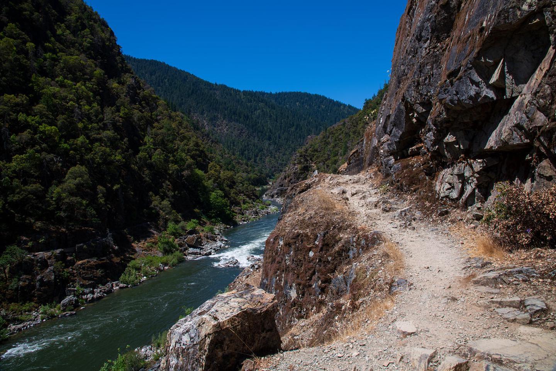 Cliffside Rogue River Trail