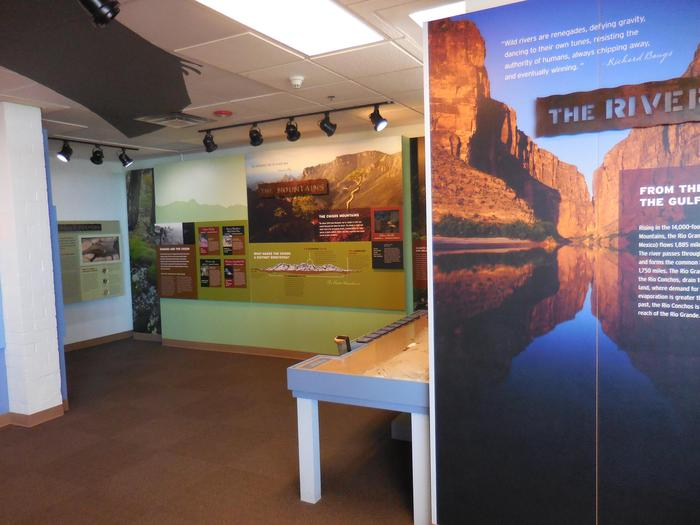 Exhibits at Panther Junction Visitor CenterLearn about your park and plan your visit with the engaging exhibits.