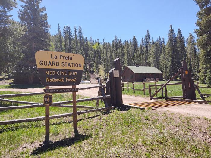 Cabin and GroundsLaPrele Guard Station