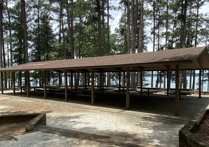 Another view of Shelter 1 at Elrod Ferry Recreation AreaShelter 1 at Elrod Ferry Recreation Area