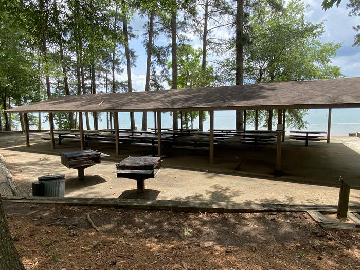 Shelter 2 at Elrod Ferry Recreation Area