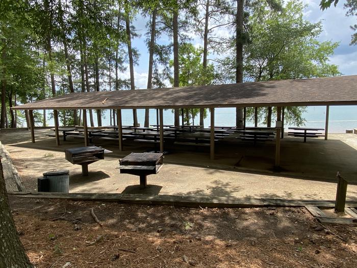 ELROD FERRY Recreation Area Shelter 2