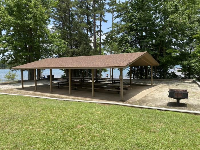 SINGING PINES Recreation Area Shelter 2 Side View