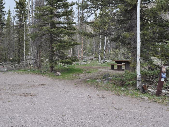 Lake Fork Campground Site 10