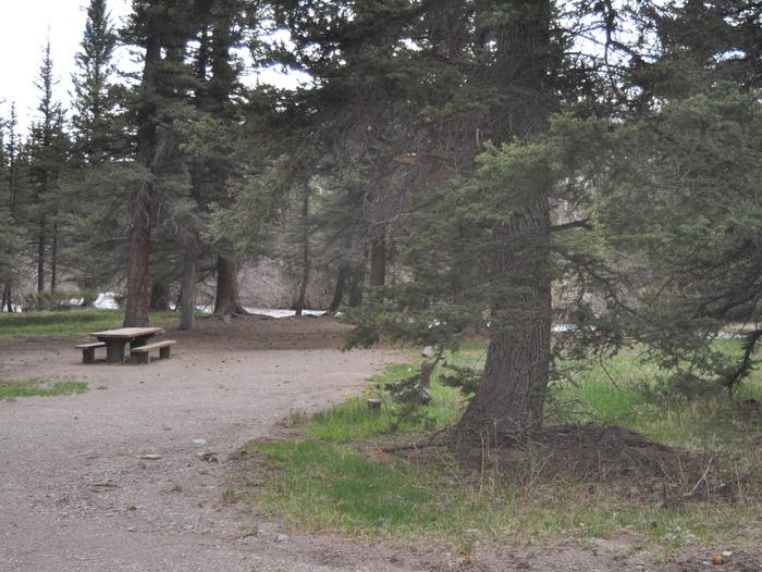 Lake Fork Campground Site 17