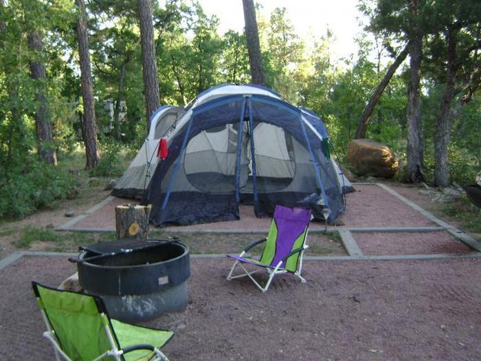 Rock Crossing Site with Tent PadTent Pad