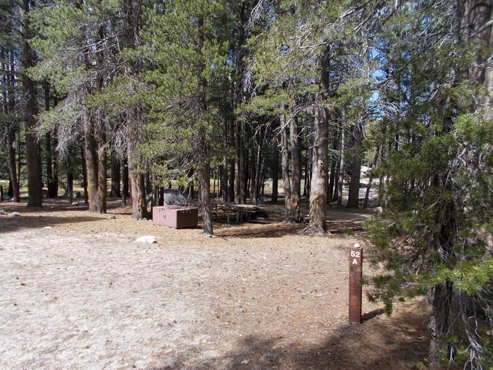 Tuolumne Campground 24' RV site