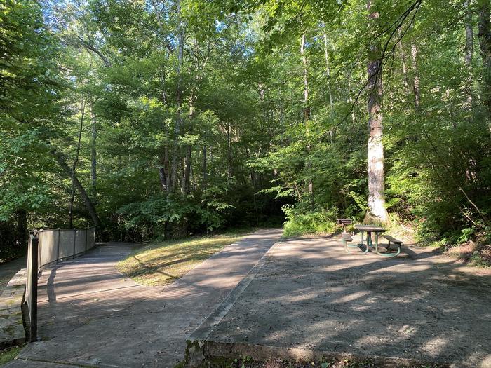 Accessible picnic area