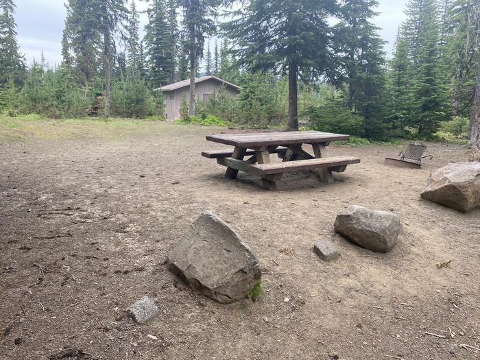Campground #14 area