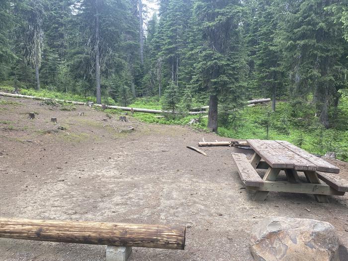 Campground #17 area