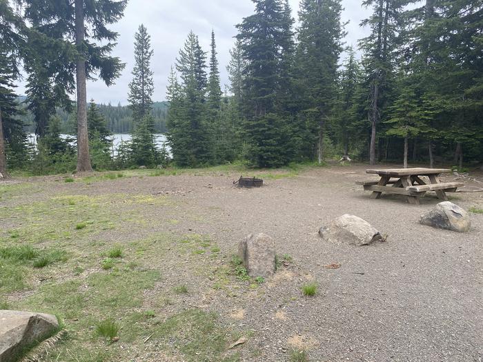 Campground #13  area