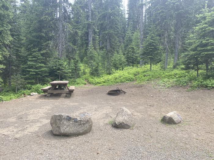 Campground #21 area