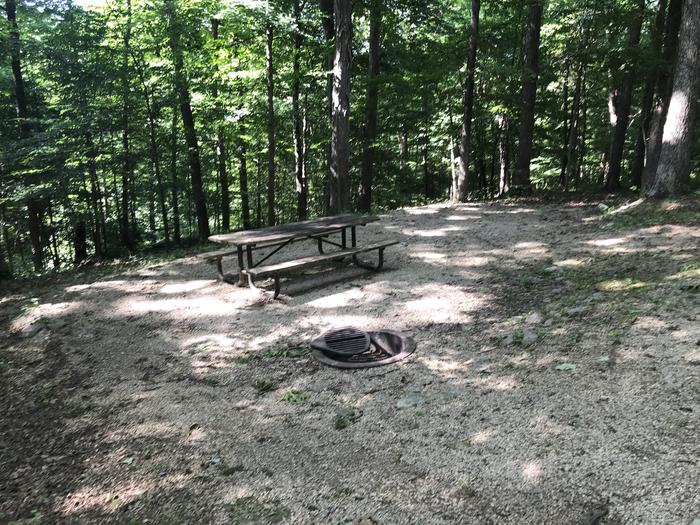 A nice walk in campsite fairly close to 80 and 81 if you've got friends that are also camping