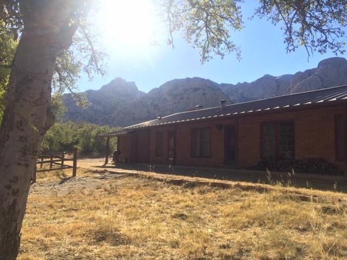 Half Moon Ranch in the Dragoon Mountains