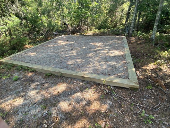 Tent pad 2