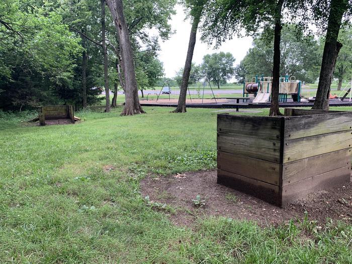 Horseshoe Pit Horseshoe Pit located near the entrance of Overlook Park between Shelter 1 & 2
