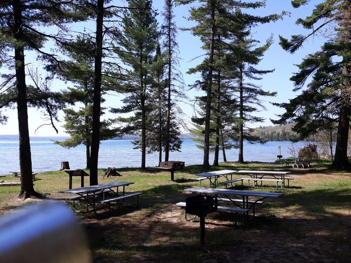 Murray Bay Group Campsite - Picnic AreaPicnic Area located at Murray Bay Group Campsite
