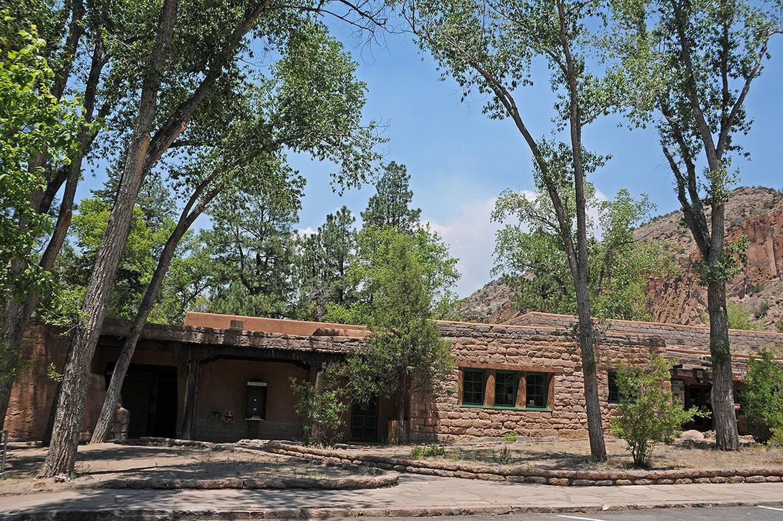 Visitor Center in Summer