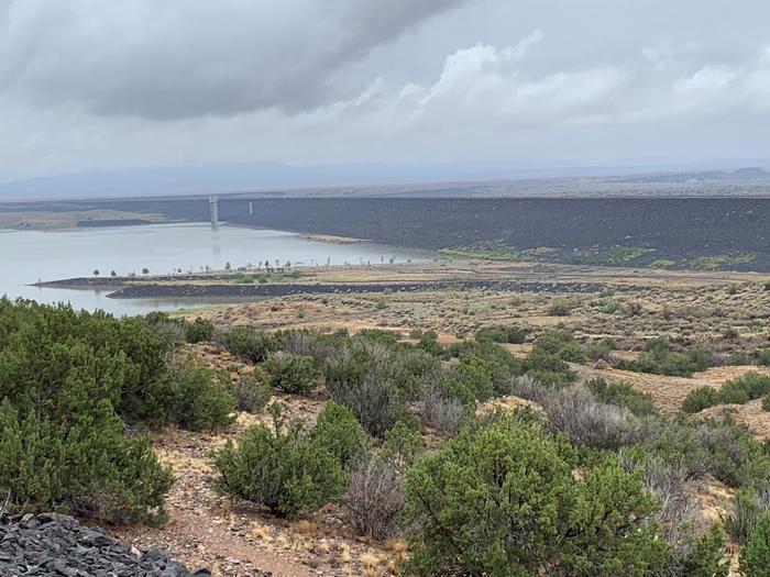 View of Swim Beach from DamSwim Beach from Dam