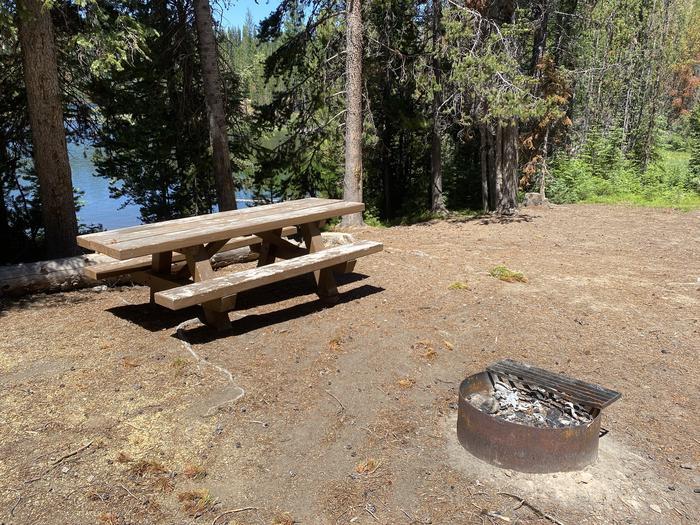 Campsite area