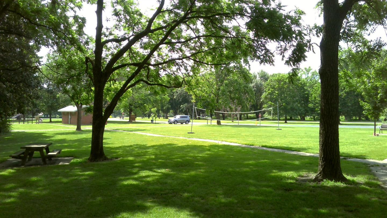 Distance to Playground, Restroom, Volleyball Net