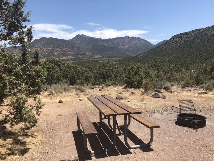 Baker Dam Campsite Table and Fire RingBaker Dam Campsite