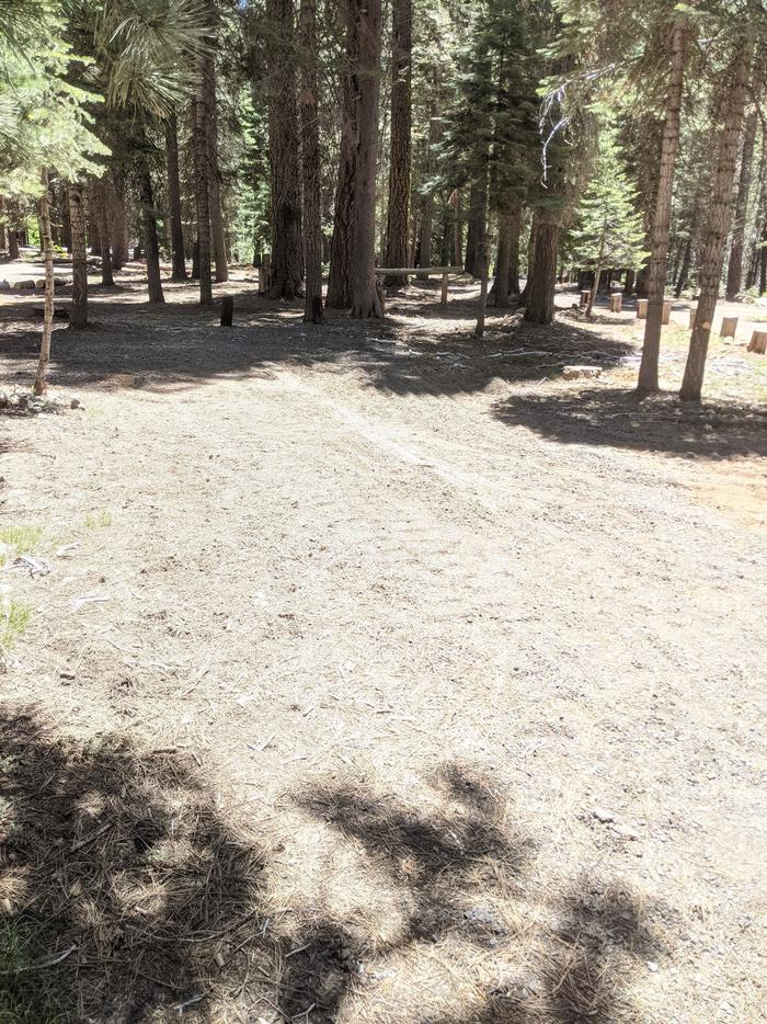 Horse Camp Site #2 Photo 3Overlooking site #2 parking spur