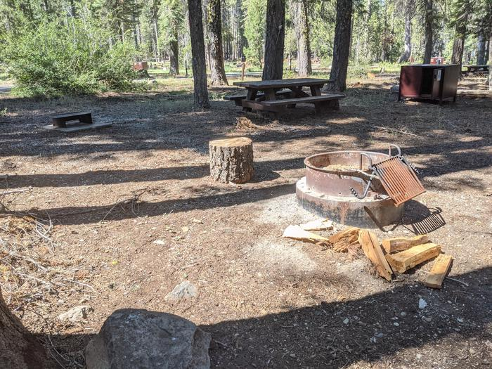 Little Beaver Site #23 Photo 1Site #23 with picnic table, bear box, fire ring, and grill in view