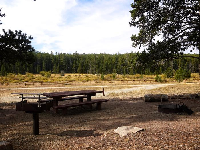 Campsite in Doyle Creek Campground