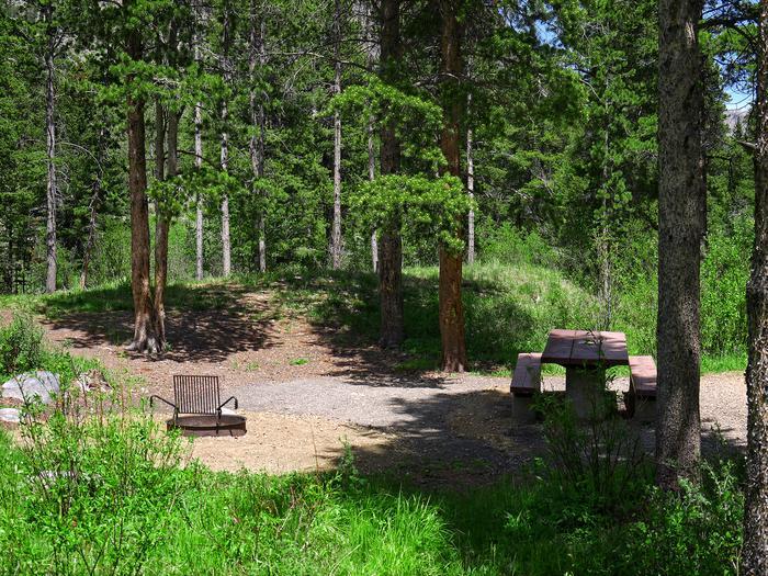 Greenough Lake Campsite
