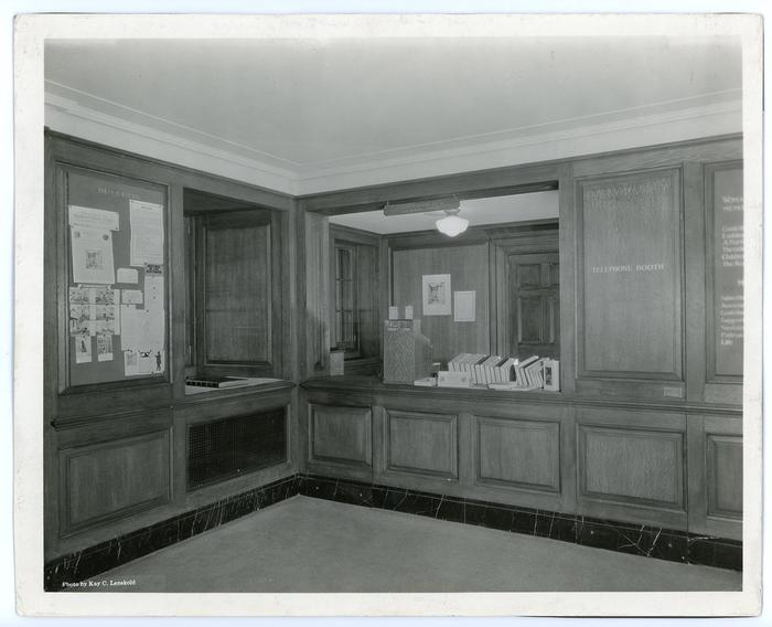 Visitor Center Desk, 1923Today, the visitor center looks a little different than how it appeared in 1923.