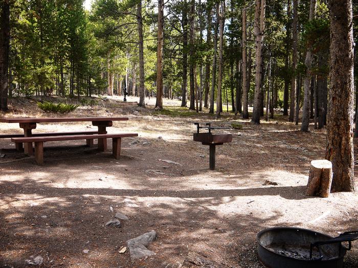 Campsite at Lost Cabin