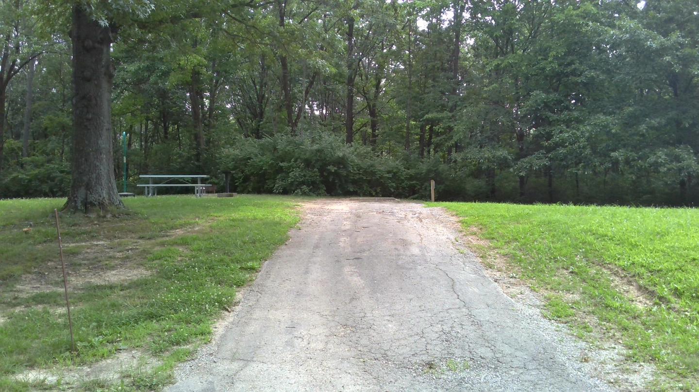 Site 27 Driveway