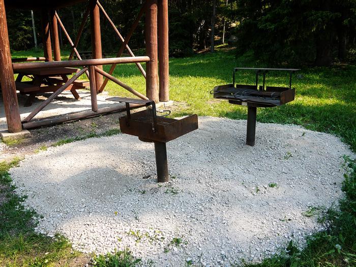 Grill AreaRanger Creek Recreation Area - Grill Area