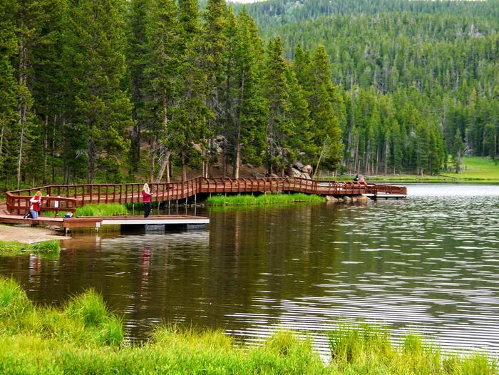 Sibley Lake Fishing Pier