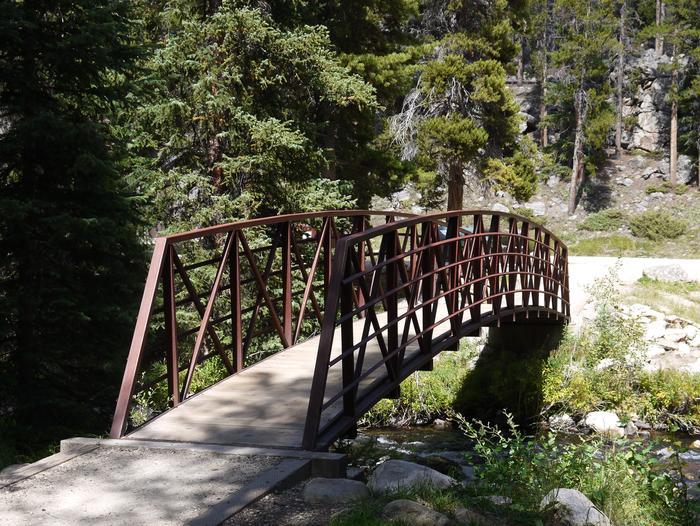 Bridge to Tent Sites