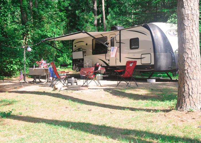 Campsite view.Sweetwater Campground Site 119