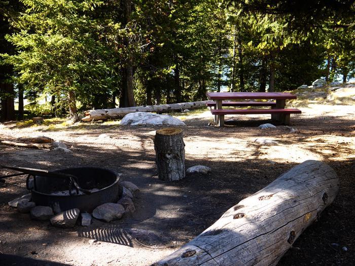 West Tensleep Lake Campsite 4