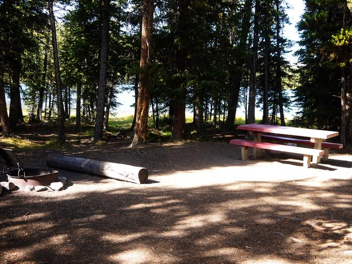 West Tensleep Lake Campsite