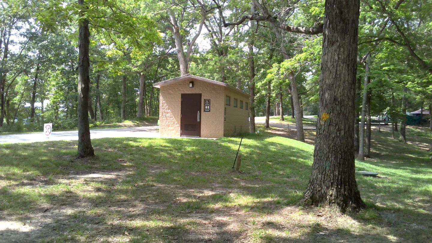 Site 33 Nearby Restroom