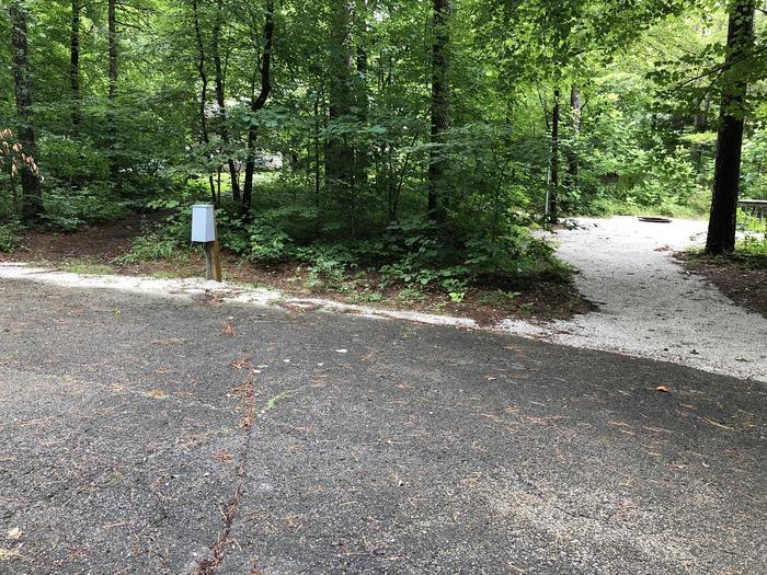 Jackpine 16 - left side of spur path to Jackpine 17 and restrooms