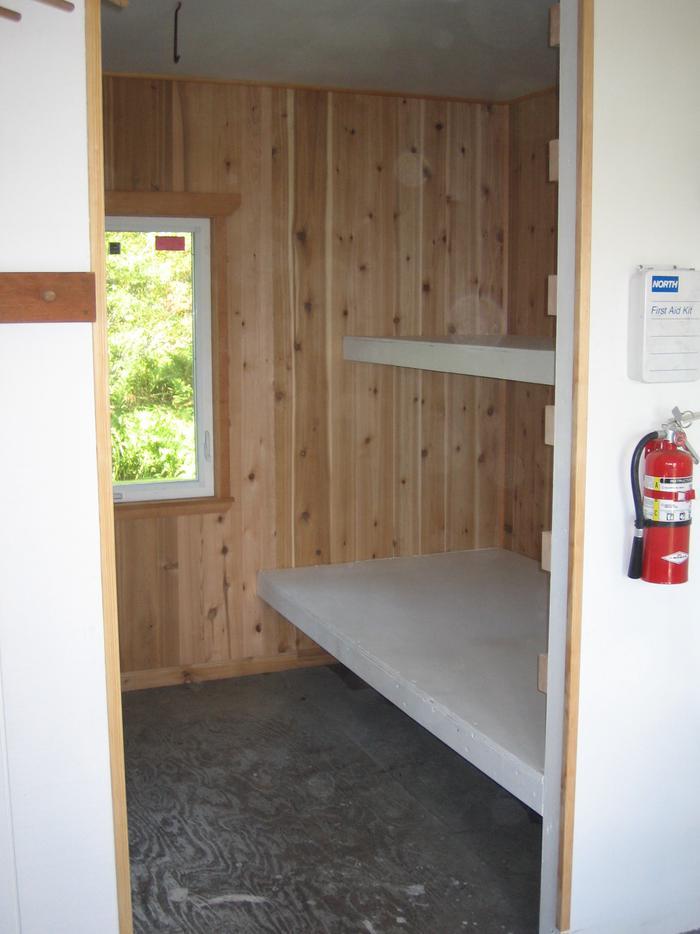 bunkbeds in the cabinCabin Interior