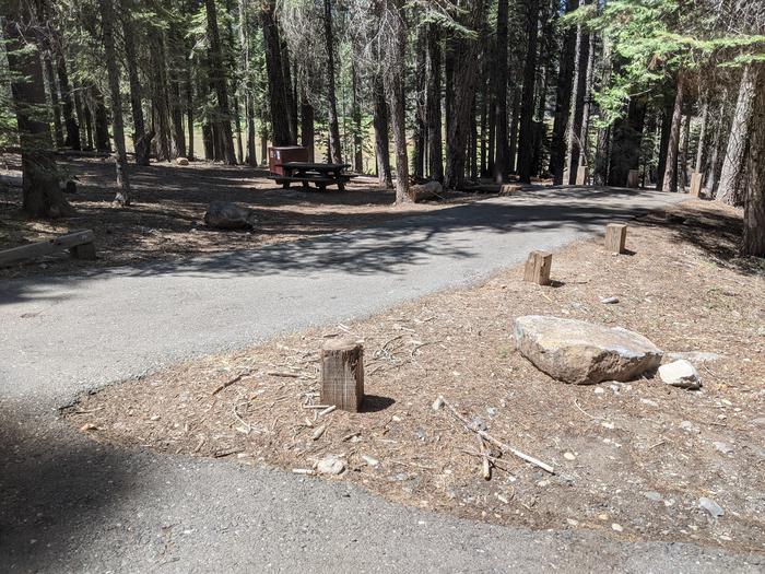 Little Beaver Site #39 Photo 1Site #39 parking spur - Level