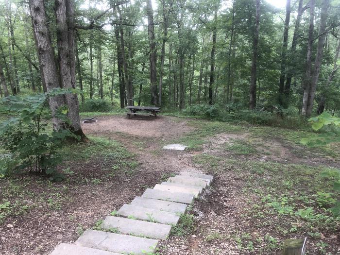 32Stairs to campsite