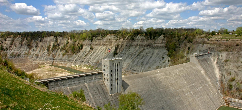 Mount Morris Dam