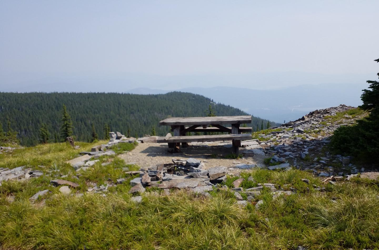 Table and Rock Fire Ring