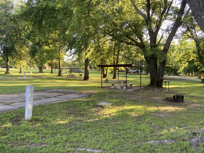 A photo of Site 05 of Loop BCRC at BEAR CREEK COVE with Electricity Hookup, Shade, Water Hookup